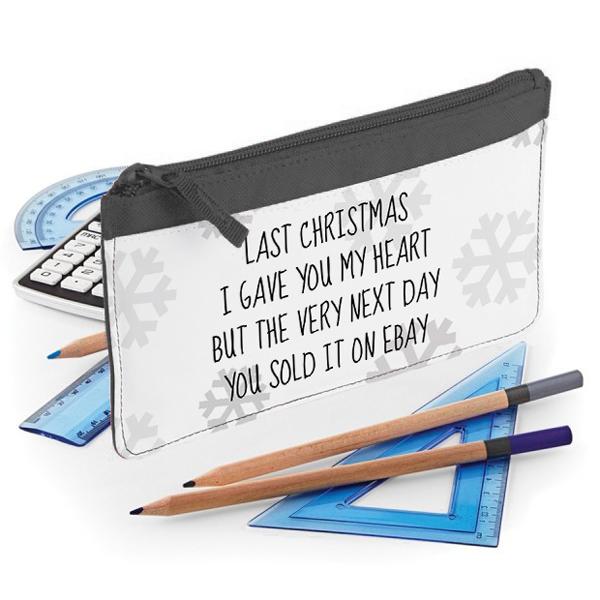 Piórnik LAST CHRISTMAS