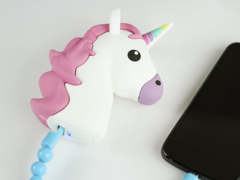 power bank unicorn ładowanie